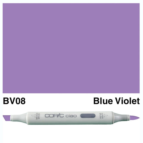 COPIC: Ciao Marker BV08 (Blue Violet) ORMD