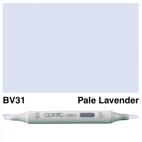 COPIC: Ciao Marker BV31 (Pale Lavender) ORMD