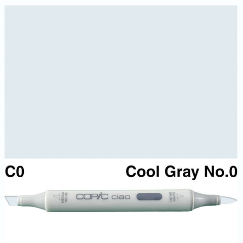 COPIC: Ciao Marker C0 (Cool Gray No. 0) ORMD