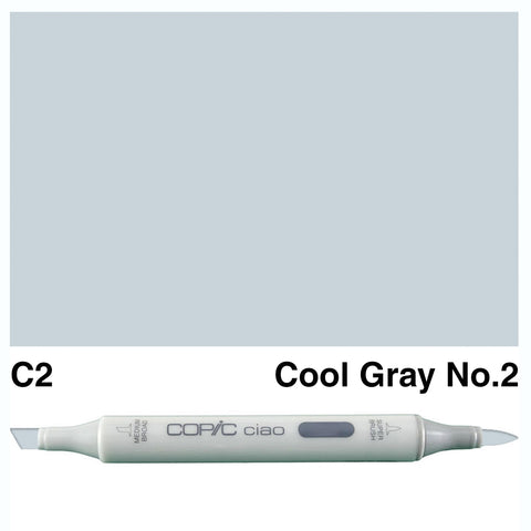 COPIC: Ciao Marker C2 (Cool Gray No. 2) ORMD