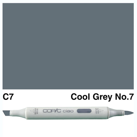 COPIC: Ciao Marker C7 (Cool Gray No. 7) ORMD