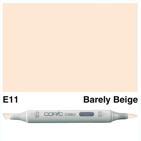 COPIC: Ciao Marker E11 (Barely Beige) ORMD