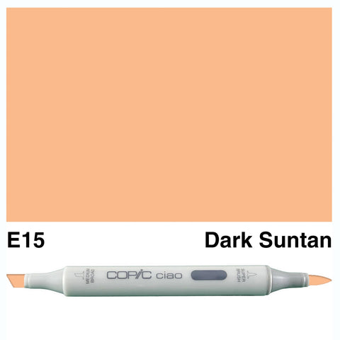 COPIC: Ciao Marker E15 (Dark Suntan) ORMD