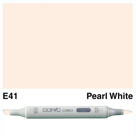 COPIC: Ciao Marker E41 (Pearl White) ORMD