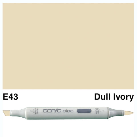 COPIC: Ciao Marker E43 (Dull Ivory) ORMD