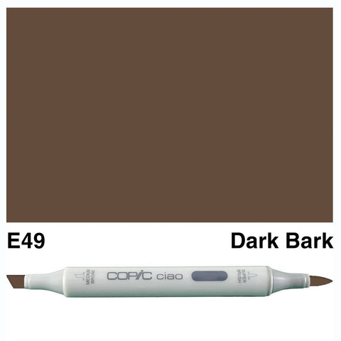 COPIC: Ciao Marker E49 (Dark Bark) ORMD