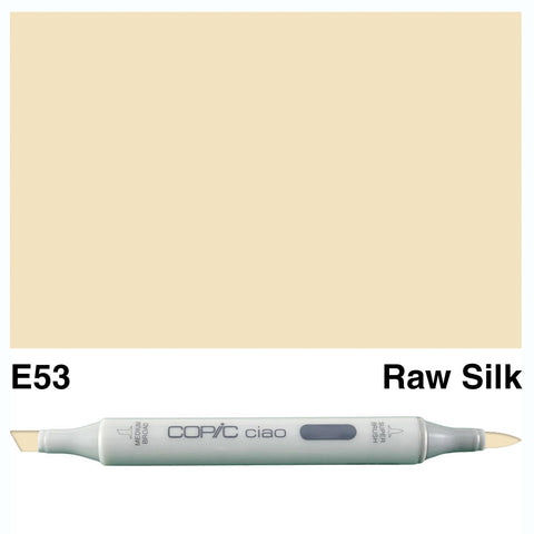 COPIC: Ciao Marker E53 (Raw Silk) ORMD
