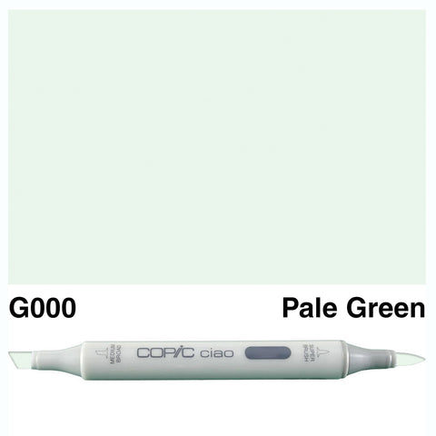 COPIC: Ciao Marker G000 (Pale Green) ORMD