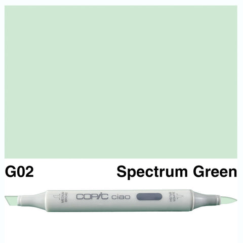 COPIC: Ciao Marker G02 (Spectrum Green) ORMD