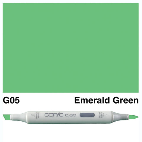 COPIC: Ciao Marker G05 (Emerald Green) ORMD