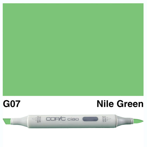 COPIC: Ciao Marker G07 (Nile Green) ORMD