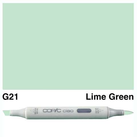 COPIC: Ciao Marker G21 (Lime Green) ORMD
