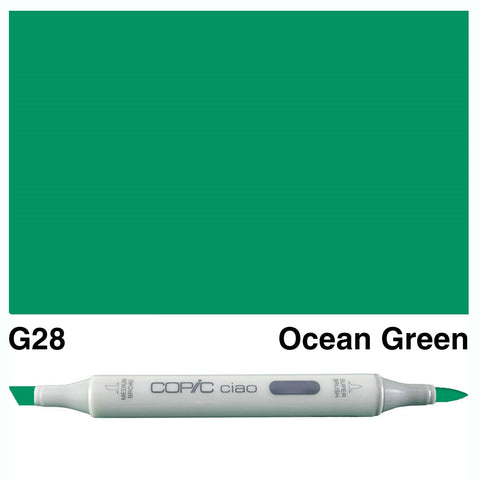 COPIC: Ciao Marker G28 (Ocean Green) ORMD