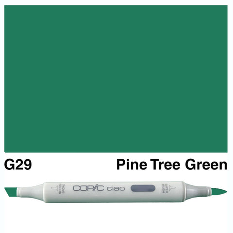 COPIC: Ciao Marker G29 (Pine Tree Green) ORMD