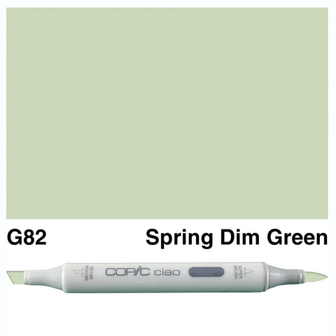 COPIC: Ciao Marker G82 (Spring Dim Green) ORMD