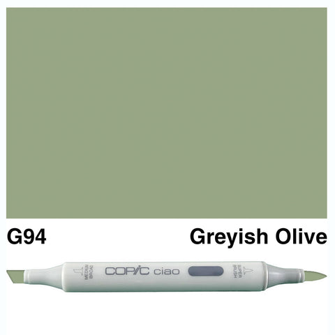 COPIC: Ciao Marker G94 (Grayish Olive) ORMD