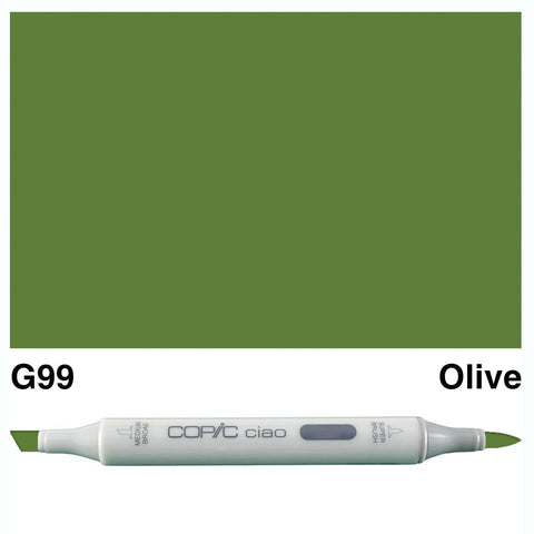 COPIC: Ciao Marker G99 (Olive) ORMD