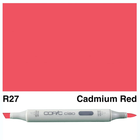 COPIC: Ciao Marker R27 (Cadmium Red) ORMD