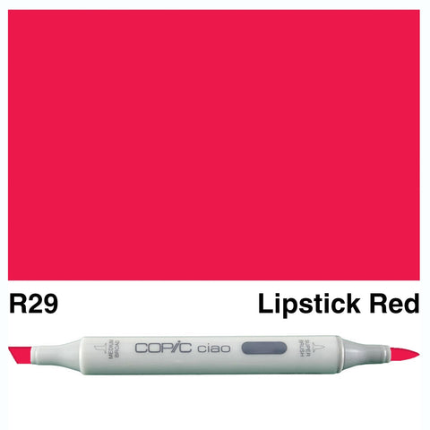 COPIC: Ciao Marker R29 (Lipstick Red) ORMD
