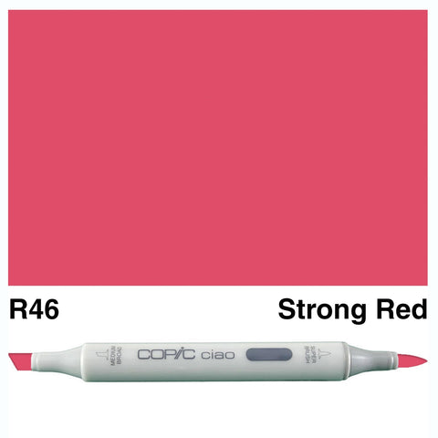 COPIC: Ciao Marker R46 (Strong Red) ORMD