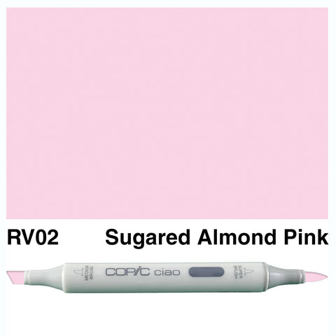 COPIC: Ciao Marker RV02 (Sugared Almond Pink) ORMD