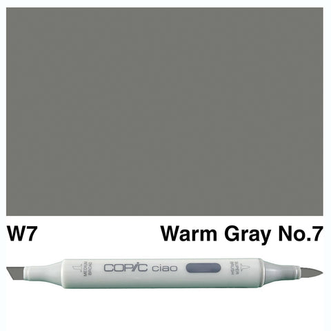 COPIC: Ciao Marker W7 (Warm Gray No. 7) ORMD