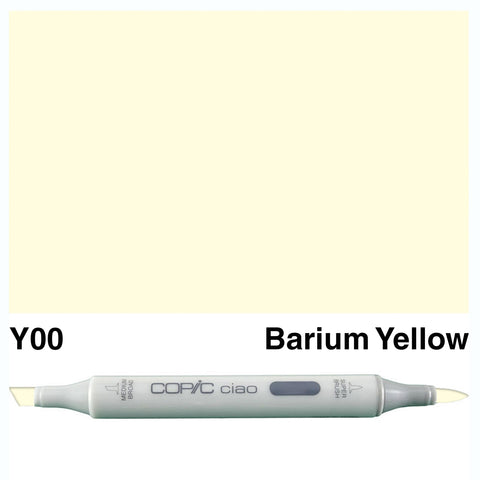 COPIC: Ciao Marker Y00 (Barium Yellow) ORMD