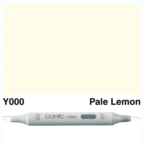 COPIC: Ciao Marker Y000 (Pale Lemon) ORMD