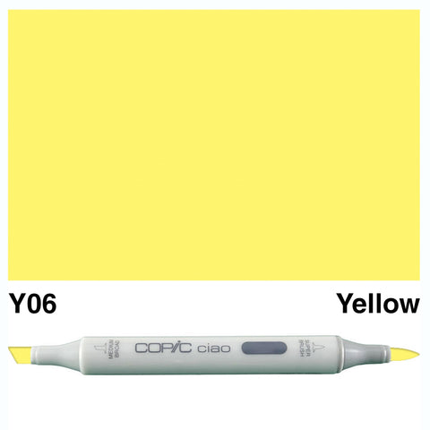COPIC: Ciao Marker Y06 (Yellow) ORMD