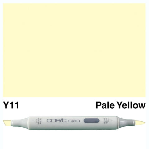 COPIC: Ciao Marker Y11 (Pale Yellow) ORMD
