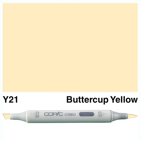 COPIC: Ciao Marker Y21 (Buttercup Yellow) ORMD