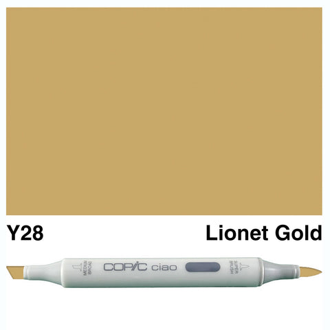 COPIC: Ciao Marker Y28 (Lionet Gold) ORMD