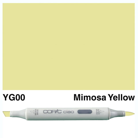 COPIC: Ciao Marker YG00 (Mimosa Yellow) ORMD