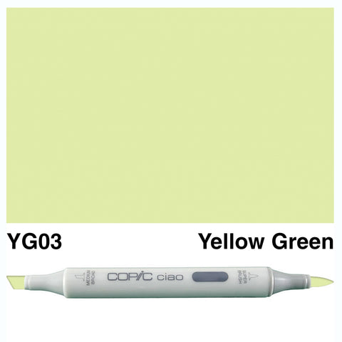COPIC: Ciao Marker YG03 (Yellow Green) ORMD