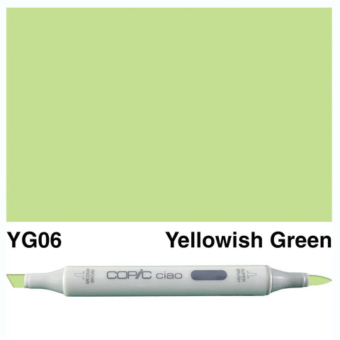 COPIC: Ciao Marker YG06 (Yellowish Green) ORMD