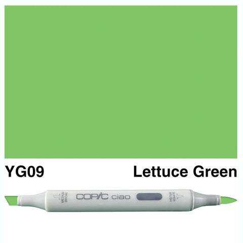 COPIC: Ciao Marker YG09 (Lettuce Green) ORMD