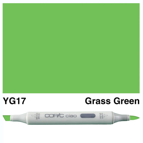 COPIC: Ciao Marker YG17 (Grass Green) ORMD