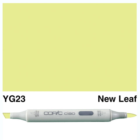 COPIC: Ciao Marker YG23 (New Leaf) ORMD