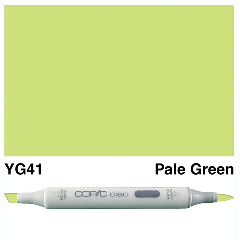 COPIC: Ciao Marker YG41 (Pale Green) ORMD