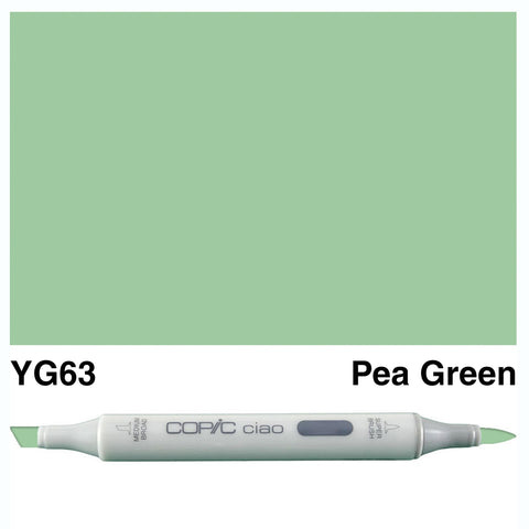 COPIC: Ciao Marker YG63 (Pea Green) ORMD