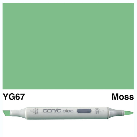 COPIC: Ciao Marker YG67 (Moss) ORMD