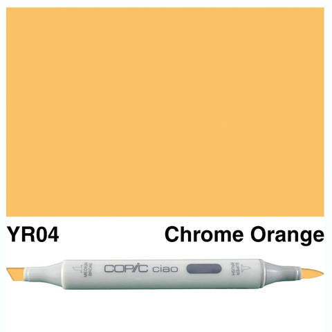COPIC: Ciao Marker YR04 (Chrome Orange) ORMD