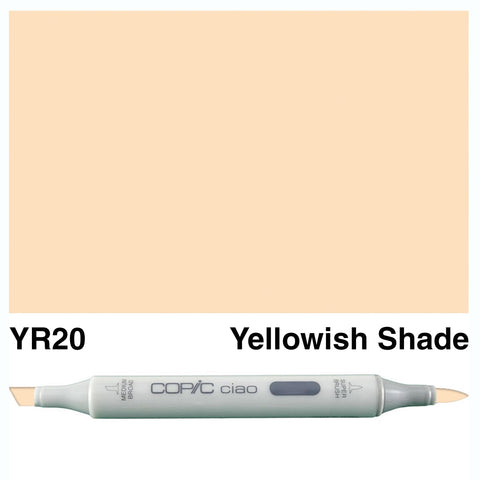 COPIC: Ciao Marker YR20 (Yellowish Shade) ORMD