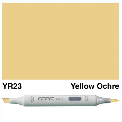 COPIC: Ciao Marker YR23 (Yellow Ochre) ORMD