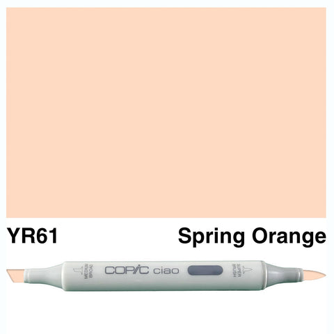 COPIC: Ciao Marker YR61 (Yellowish Skin Pink/Spring Orange) ORMD