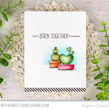 MFT STAMPS: BB Let's Stick Together