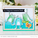 MFT STAMPS: Toad-ally Awesome Die-namics