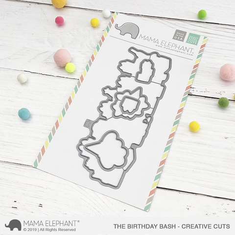 MAMA ELEPHANT: Birthday Bash Creative Cuts