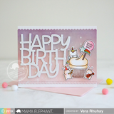 MAMA ELEPHANT: Cupcake Wishes
