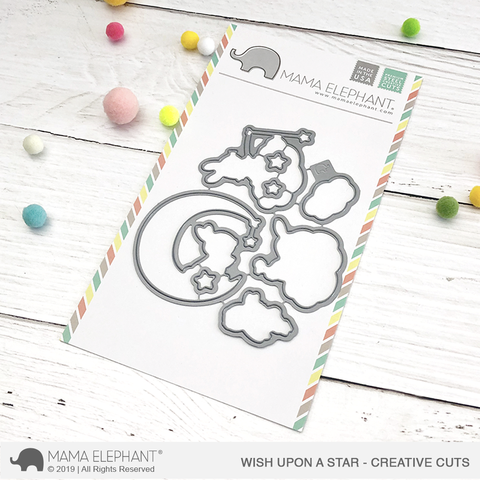 MAMA ELEPHANT: Wish Upon a Star Creative Cuts